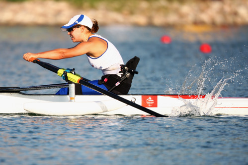 Helene Raynsford, Paralympic rower competing at the Beijing 2008 Games