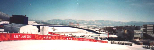 Soldier Hollow venue at the Salt Lake City 2002 Winter Paralympics