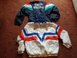 Yvonne Matts GB Paralympic jackets
