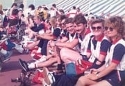 Team GB at the New York Games 1984