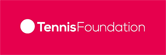 Tennis Foundation logo with link to website