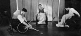 Experimenting with wheelchair polo in the 1940s