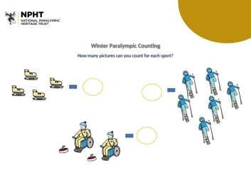 Early years Winter Paralympic counting