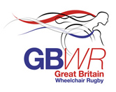 GB Wheelchair Rugby logo with link to website