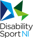 Disability Sport Northern Ireland logo and website link