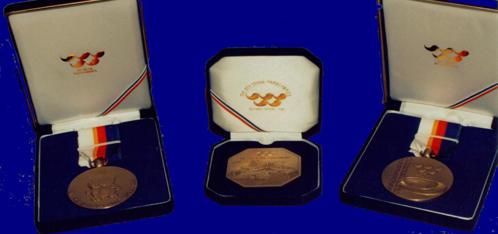 Robert Barretts athletics bronze medals from the Seoul 1988 Paralympics
