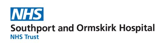 Southport and Ormskirk Hospital NHS Trust logo and website link