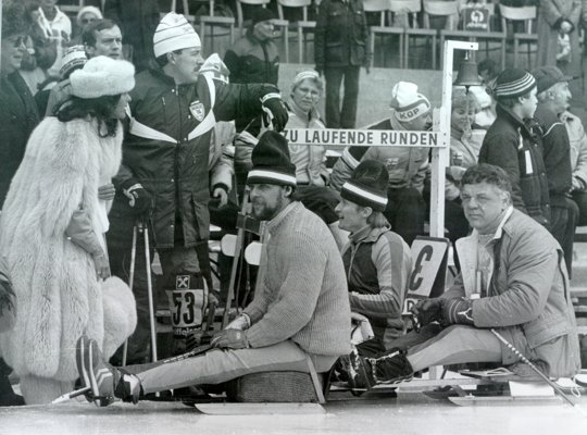 Queen Silvia of Sweden attended the 1988 Innsbruck Paralympic Winter Games