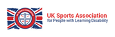UK Sports Association for People with Learning Difficulties logo and website link