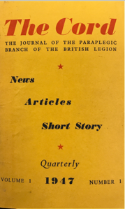 Front cover of The Cord Magazine in 1947