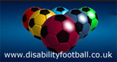 Disability Football logo with link to website