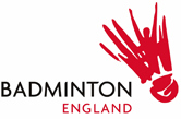 Badminton England logo with link to website