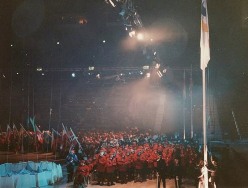 Opening ceremony of the Lillehammer 1994 Paralympic Winter Games