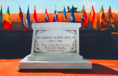 Martin Luther Kings tomb