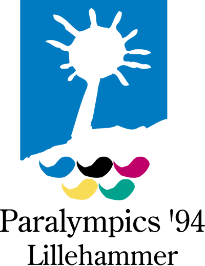 Logo for the Lillehammer 1994 Paralympic Games