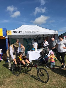 NPHT Pop up museum at Bucks County Show