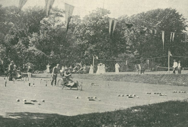 First ever wheelchair sports day at the Royal Star and Garter home in Richmond, Surrey, 1923