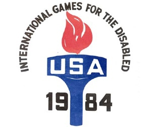 Logo of the 1984 New York Paralympic Summer Games