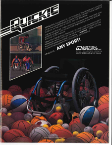 Advert from sports n spoke magazine