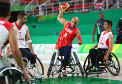 Gaz Choudhry competing at the Rio 2016 Paralympic Games