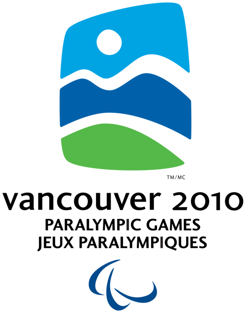 Logo for the Vancouver 2010 Paralympic Winter Games