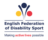 English Federation of Disability Sport logo and website link