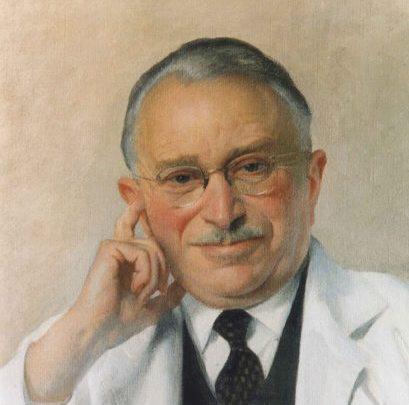 Portrait of Professor Sir Ludwig Guttmann