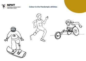Early years colour in the Para athlete