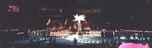 Opening ceremony at the Salt Lake City 2002 Winter Paralympics