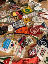 Multitude of flags from the WheelPower collection