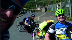 Adaptive cyclists in Bradford