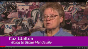 Caz Waltons oral history interview for Mandeville Legacy