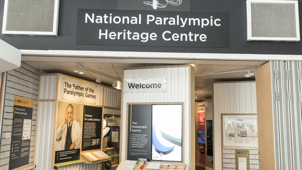 Entrance to the National Paralympic Heritage Centre