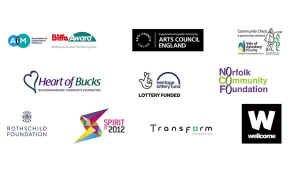 Logos of all our funding partners
