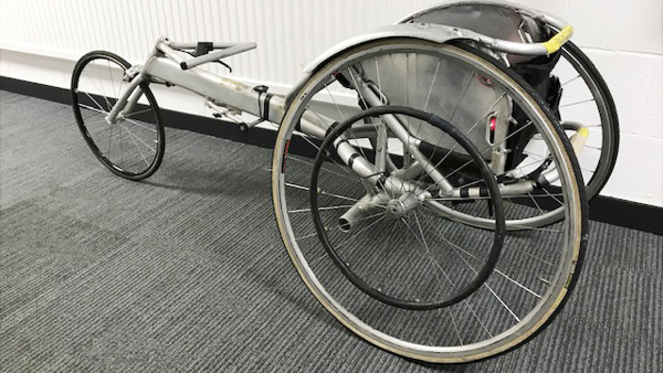 The Racing Wheelchair