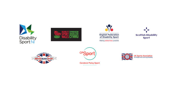 logos of parasport organisations