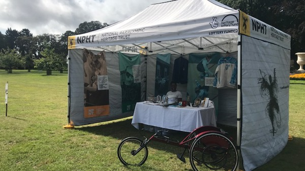 NPHT Pop up museum at Waddesdon Manors sports day