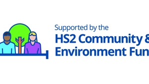 HS2 Community and Environment Fund logo