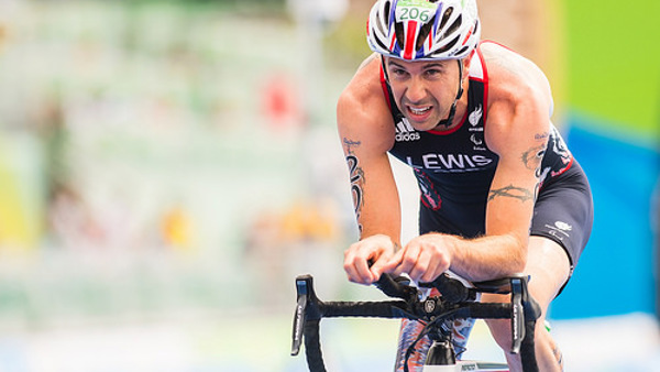 Andrew Lewis Triathlete competing at Rio 2016
