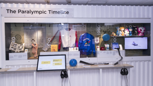 Paralympic Games display at the National Paralympic Heritage Centre
