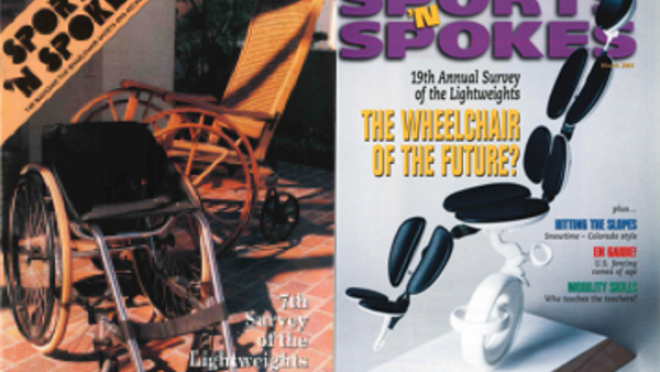 Sporting wheelchair magazine Sports 'n' Spokes