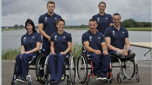 GB Paracanoe team Rio 2016 by Garry Bowden