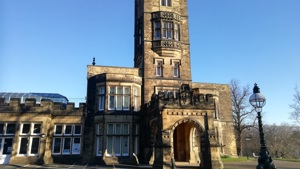 Exterior shot of Cliffe Castle Museum