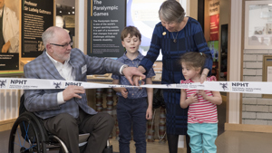 Opening of the National Paralympic Heritage Centre